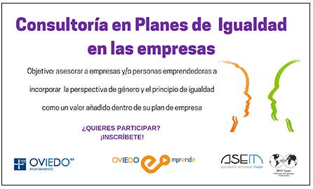 Oviedo Emprende - Consultoría Programa Igualdad