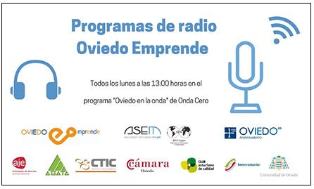 Oviedo Emprende - Programas de Radio